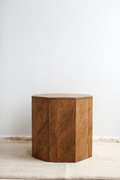Heather Heron Octagon side table