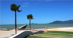 The fabulous redevelopment foreshore and jetty, Cardwell after Cyclone Yassi. see also the Public_Art Bagu statues of the Girringun_ Aboriginal_Artists.