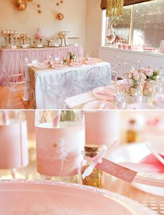 Pink, Glittery & Gold Disco Fairy Party // Hostess with the Mostess® Princess Birthday, Princess Party, Girl Birthday, Birthday Ideas, 13th Birthday, Pink Gold Party, Pink And Gold, Pink Grey, Shower Party
