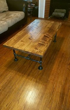 Coffee Table Table Industrial Table Industrial Pipe Table