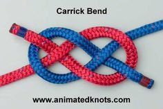 Tutorial on Carrick Bend Tying http://www.animatedknots.com/carrick/index.php?Categ=boating=LogoGrog.jpg=www.animatedknots.com