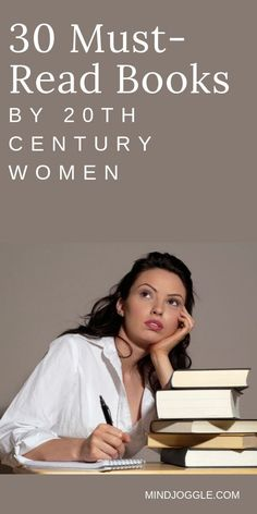 Read more books by women, and start with these 20th century classics by women. If you're looking for books for women, try one of these books--must-reads for any reader, man or woman. These are perfect additions to your reading bucket list. #books #booklist Literary Fiction, Fiction And Nonfiction, Historical Fiction, New Books, Good Books, Books To Read, Reading Lists, Book Lists, 20th Century Women