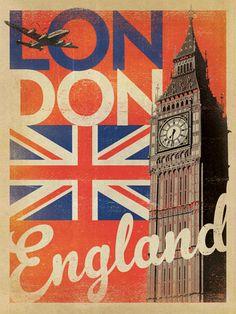 London vintage-style print by Joel Anderson, 2012. https://www.andersondesigngroupstore.com/store-cat-gallery.html