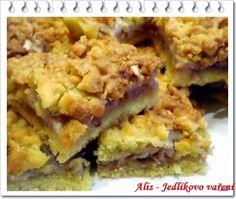Jedlíkovo vaření: Jablečné řezy