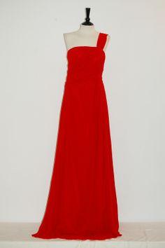 Vestido Judit Rojo Vestido Fiesta Largo