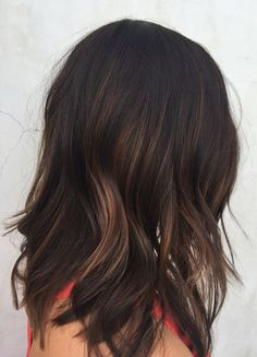 Brunette Balayage Hair ❤ Balayage Is The New Hair Trend! Here we have collected our favorite balayage ideas. Fall Hair Color For Brunettes, Brunette Hair Cuts, Brunette Hair Colors, Hair Color Balayage, Soft Balayage, Dark Brown Balayage Medium, Balayage Highlights, Subtle Balayage Brunette, Brunette Highlights