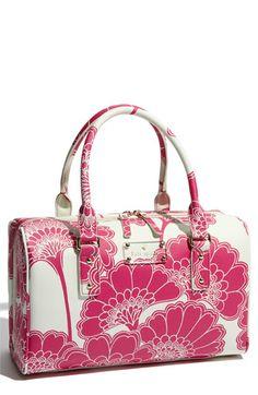 'japanese floral - melinda' satchel