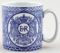 Spode Blue Room Mug Golden Jubilee c2002 from Lover of Blue & White