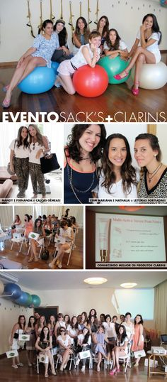 SACK'S + CLARINS NO NIRVANA SPA!
