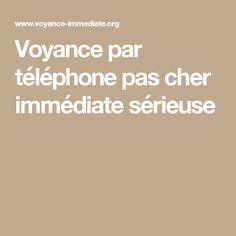 Voyance par téléphone pas cher immédiate sérieuse