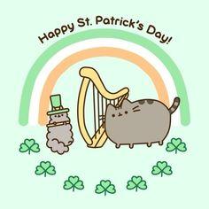 #saintpatricksday, #feature, #me, #stpatricksday, #pusheen