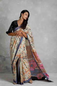 Jamdani Saree, Ikkat Saree, Latest Designer Sarees, Designer Dresses, Saree Jackets, Beautiful Saree, Saree Collection, Cotton Saree, Indian Wear