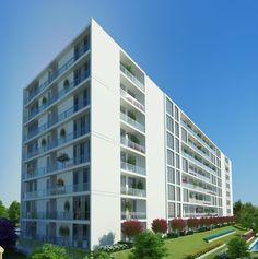 Adres Kampüs Batı..  Bodrum, zemin ve 7 kattan oluşan blokta çeşitli büyüklüklerde 1+1 ve 2+1 daire seçenekleri var. Ticari blokta ise 6 işyeri alanı yer alıyor.