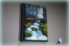 Mountain stream polymer clay by ArtisticVariations84 on Etsy