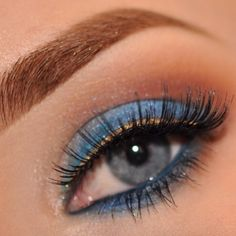 Good morning, it s Monday again  makeup and brow inspiration by @Stephanie Elfenson with
