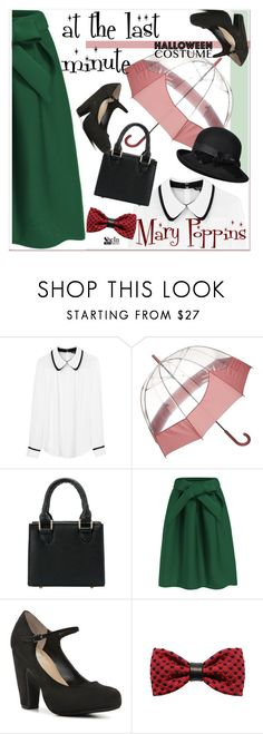 """""""60 Second Style: Last Minute Halloween Costume"""" by paculi ❤ liked on Polyvore featuring Tara Jarmon, Hunter, ZuZu Kim, Betmar, 60secondstyle and shein"""