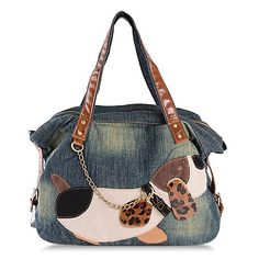 Stylish Women's Shoulder Bag With Chain and Color Block Design $18.60
