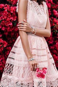 ab37796530 Love this colorful spring fashion editorial by Annabelle from VivaLuxury!