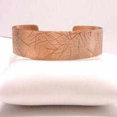 Handmade Copper Cuff Bracelet Size 6 to 7 by HGWjewelrydesigns, $22.00