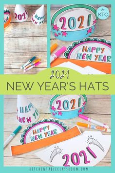 Ant Crafts, New Year's Eve Crafts, Preschool Crafts, Easy Craft Projects, Projects For Kids, Diy For Kids, Crafts For Kids, Craft Ideas, Preschool Christmas