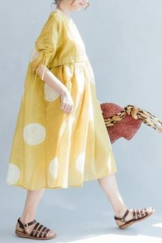 Chiffon High Waist Lovely Loose Casual Doll Dress Woman Clothes