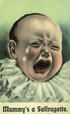 Absurd propaganda postcards warning men about the dangers of women's rights, early 1900s | Dangerous Minds