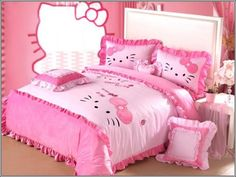 Turn Your Little Girl's Room to a Hello Kitty World!