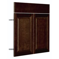 Nimble Balsamic Barrel 14.875-in W x 23.9062-in H x 0.75-in D Finished Umber Door and Drawer Base Cabinet
