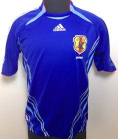 b16622886bf Adidas Japan National Team JFA 2006 World Soccer Jersey SZ MEDIUM  38-40..GOAL!!!  adidas  Japan