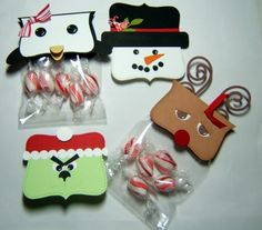 Regali Natale fai da te sacchetto caramelle