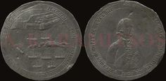 1800 medal of Ushakov in silver for the relief of the Ionian islands and its proof