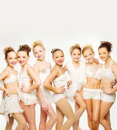 Maddie, Kendal, Chloe, Nia, Kenzie, Paige and Brooke