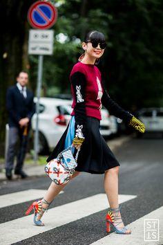 Milano Moda Uomo SS17 Street Fashion by Szymon Brzoska The Style Stalker