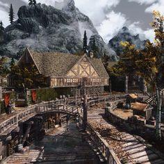 Beautiful Riften of Elder Scrolls V:Skyrim