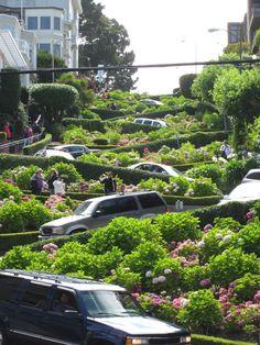 Lombard St. - San Francisco, CA