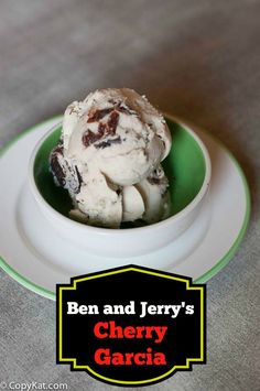 Make you own Ben and Jerry's Cherry Garcia with this recipe.