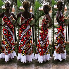 Dressed in Samacá, Angolan traditional fabric. #LisetePote design