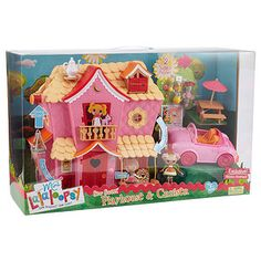 Mini Lalaloopsy Sew Cute Playhouse + Cruiser
