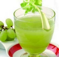 Celery and Grape Juice recipe made using a juicer (http://juicers-best.com/blogs/benefits-of-juicing/6709916-health-benefits-of-celery)