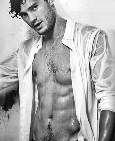 Male models, beautiful men, hot guys, black and white photography