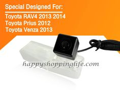Back Up Camera for Toyota 2013 2014 Prius 2012 Venza Car Rear View Cameras Toyota Venza, Toyota Prius, Back Up, Backup Camera, Rear View, Night Vision, Cameras, Vehicle, Electronics