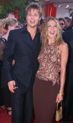 The marriage of Brad Pitt and Jennifer Aniston 15 years later