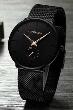 Finiera Minimalist Black Steel Watch Minimalist Watch Collection : AM to PM // watches // mens fashion // affrodable // military // urban men // minimalist // Stylish Watches, Luxury Watches For Men, Cool Watches, Cheap Watches, Nixon Watches, Black Watches, Best Watches For Men, Fossil Watches, Best Affordable Watches