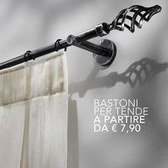 Vastissima scelta di bastoni per #tende  #biancheria per la #casa #perugia #cittàdicastello #cashandcash #umbria
