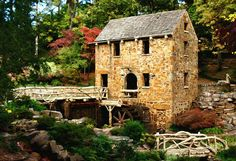 "The Old Mill in North Little Rock , AR  Featured in ""Gone With the Wind"""