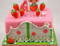 Cake For Our Little Princesses A cute little strawberry shortcake cake Cake Central, Strawberry Shortcake Birthday, Girl Cakes, Little Princess, Desserts, Food, Birthday Cakes, Princesses, Fiestas