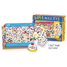 I Spy Eagle Eye - Educational Toys, Specialty Toys and Games - Creative, Award Winning for Science, Math and More | Young Explorers
