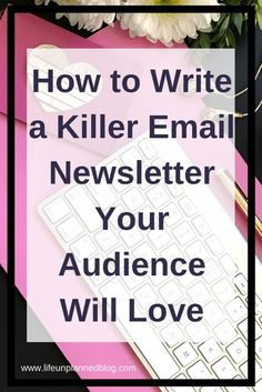 Here, you can steal my formula! Let& dive in and learn how to write a killer email newsletter your audience will love. Newsletter Design, Newsletter Ideas, Email Newsletters, Blog Topics, Blog Writing, How To Start A Blog, Love Life, Business Tips, Helpful Hints