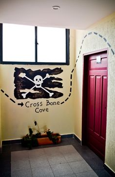 Detalle remate de corredor piso pirata, San Andrés islas