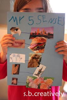 My Five Senses Activity. Very fun,and I would do one with each season highlighting their favorite seasonal senses sensations!